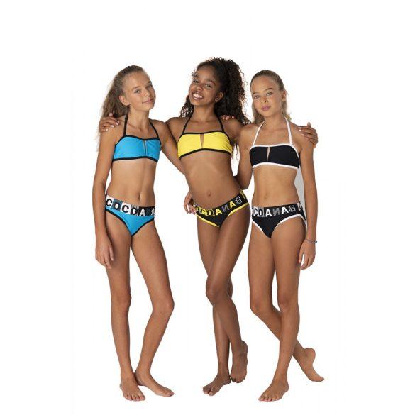 Cocobana feliratos fekete lány bikini