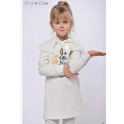 Chipi & Chips mopsz mintás kislány gyerekruha