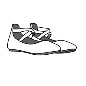 Supinált nyitott cipő